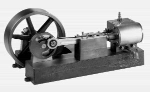 1-cylinder 1-horsepower steam engine